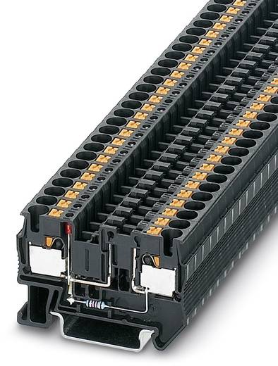 Phoenix Contact PT 4-FSI/F-LED 24 PT 4-FSI/F-LED 24 - zekering-serieklem Zwart Inhoud: 50 stuks