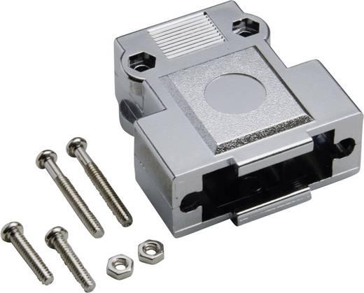 BKL Electronic 10120247 D-SUB behuizing Aantal polen: 9 Kunststof, gemetalliseerd 180 ° Zilver 1 stuks