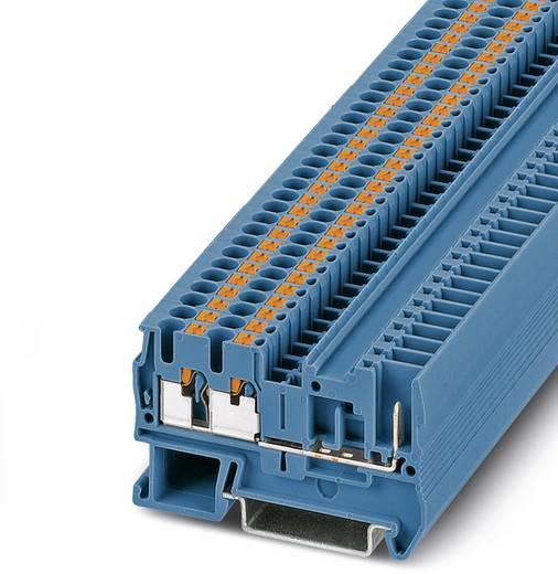 Phoenix Contact PT 2,5-TWIN/1P BU PT 2,5-TWIN/1P BU - Doorgangsserieklem Blauw Inhoud: 50 stuks