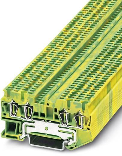 Phoenix Contact ST 1,5-QUATTRO-PE ST 1,5-QUATTRO-PE - doorgangsserieklem Groen-geel Inhoud: 50 stuks