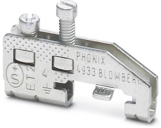 Phoenix Contact MSLK 4 MSLK 4 - Randaarde-serieklem Zilver Inhoud: 10 stuks
