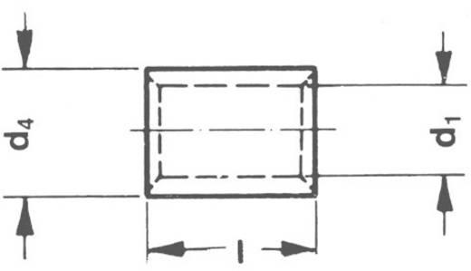 Doorverbinder 4 mm² 6 mm² Ongeïsoleerd Metaal Klauke 1650L 1 stuks