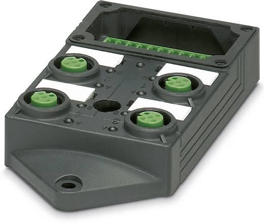 Passieve sensor/actorbox M12-verdeler met kunstof schroefdraad SACB-4/4-L-