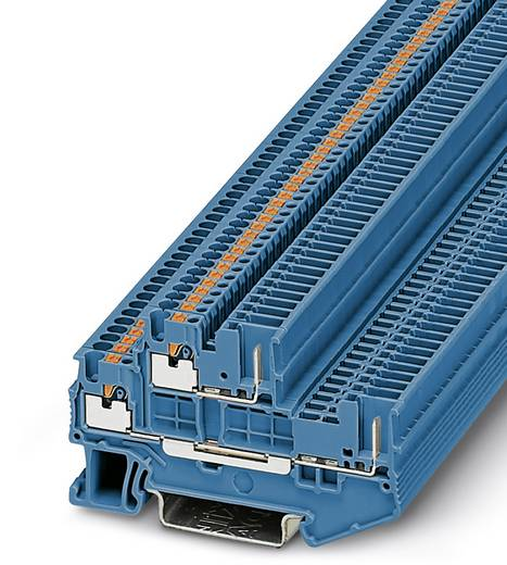 Phoenix Contact PTTB 1,5/S/2P BU PTTB 1,5/S/2P BU - 2-lagige klem Blauw Inhoud: 50 stuks