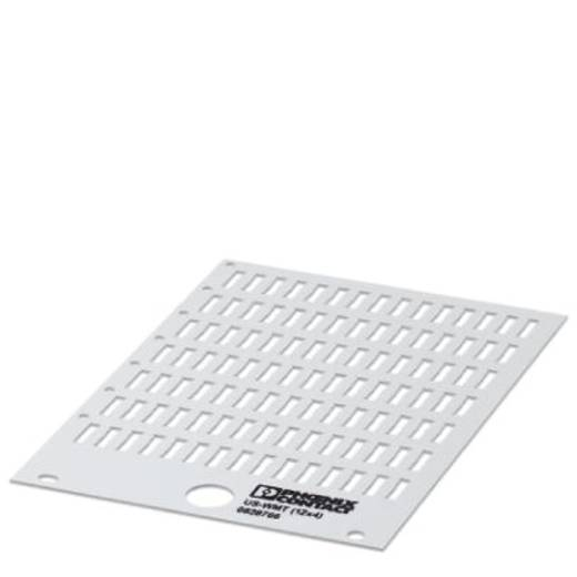 Adermarkering Montagemethode: Schuiven Markeringsvlak: 12 x 4 mm Geschikt voor serie Phoenix Contact PATG Wit Phoenix Co