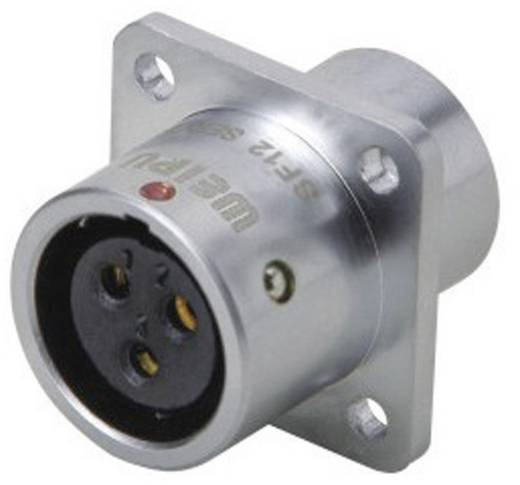 Push-pull coaxiaalsteker IP67 Aantal polen: 7 Kabelsteker 5 A SF1213/S7 Weipu 1 stuks