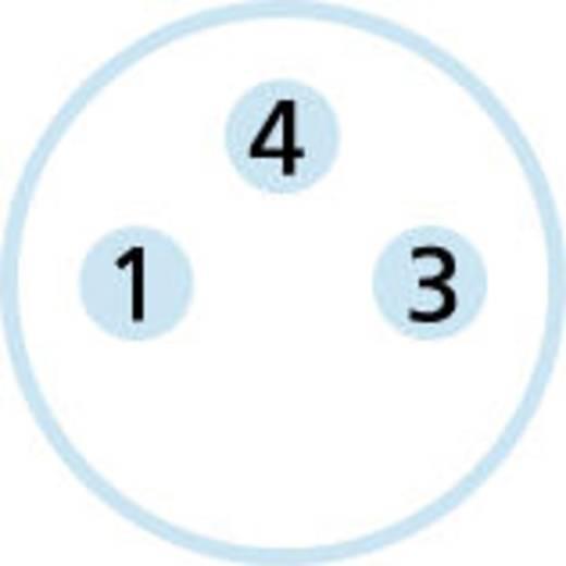 Escha SESP3S M8 inbouwstekker Aantal polen: 3 Inhoud: 1 stuks
