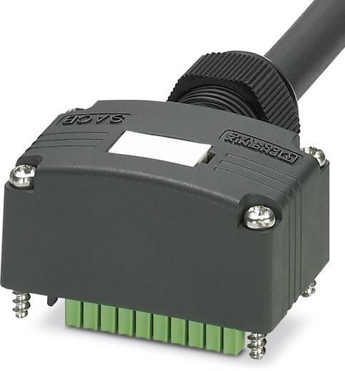 Passieve sensor/actorbox Aansluitrail met zijkabel SACB-C-H180-4 / 8- 5,0P