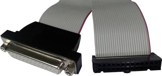 Serieel, Parallel Aansluitkabel [1x D-sub bus 25-polig - 1x Female connector 26-polig] 0.26 m Grijs