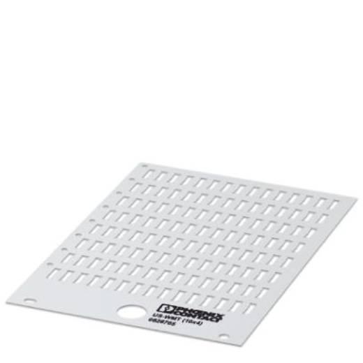 Adermarkering Montagemethode: Schuiven Markeringsvlak: 10 x 4 mm
