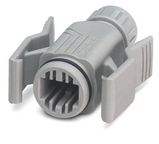 Phoenix Contact VS-08-T-RJ45/IP67 VS-08-T-RJ45/IP67 - RJ45-tulebehuizing Inhoud: 5 stuks
