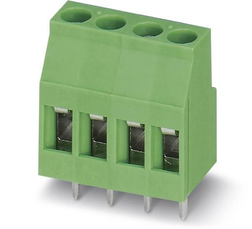 Klemschroefblok 2.50 mm² Aantal polen 12 MKDS 3/12 Phoenix Contact Groen 50 stuks