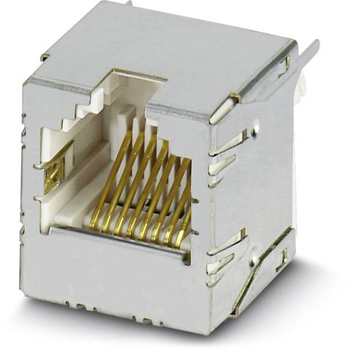 Phoenix Contact VS-08-BU-RJ45-6/LV-1 VS-08-BU-RJ45-6/LV-1 - RJ45-buscontactelement Inhoud: 5 stuks