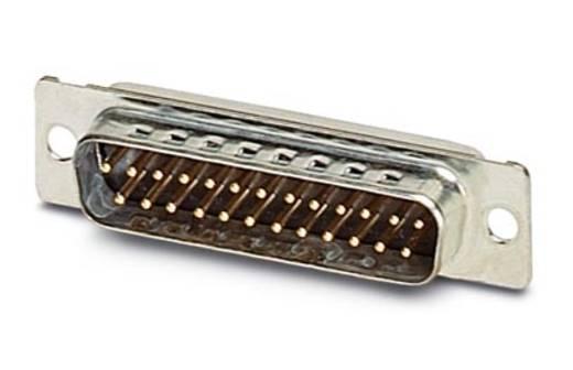 Phoenix Contact VS-25-ST-DSUB-EG D-SUB male connector 180 ° Aantal polen: 25 Soldeerkelk 10 stuks
