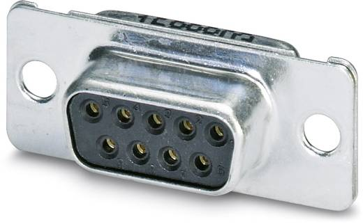 Phoenix Contact VS-09-BU-DSUB-EG D-SUB bus connector 180 ° Aantal polen: 9 Soldeerkelk 10 stuks
