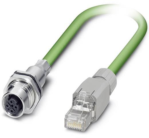 Phoenix Contact VS-M12FSBPS-IP20-93B/5,0 VS-M12FSBPS-IP20-93B/5,0 - leiding Inhoud: 1 stuks