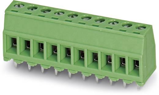 Klemschroefblok 1.50 mm² Aantal polen 8 MKDSD 1,5/ 8-3,81 Phoenix Contact Groen 50 stuks