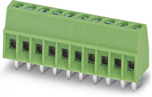 Klemschroefblok 0.50 mm² Aantal polen 10 MPT 0,5/10-2,54 Phoenix Contact Groen 100 stuks