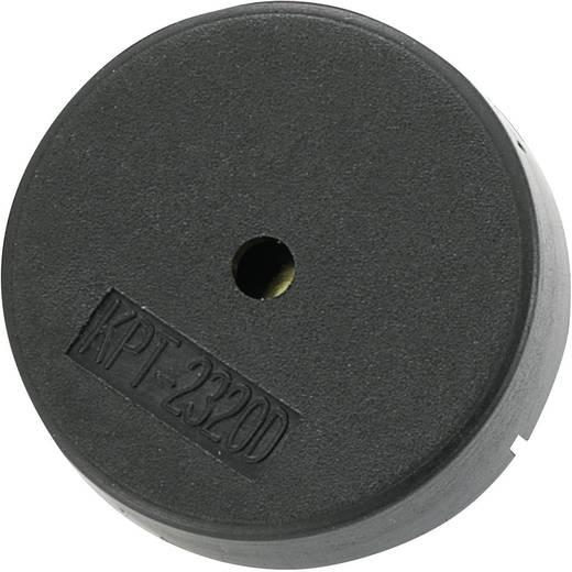 Piezo-signaalgever KP-serie Geluidsontwikkeling: 78 dB 12 V/AC Inhoud: 1 stuks