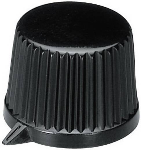 OKW A1613560 Draaiknop Zwart (Ø x h) 19.9 mm x 15.5 mm 1 stuks