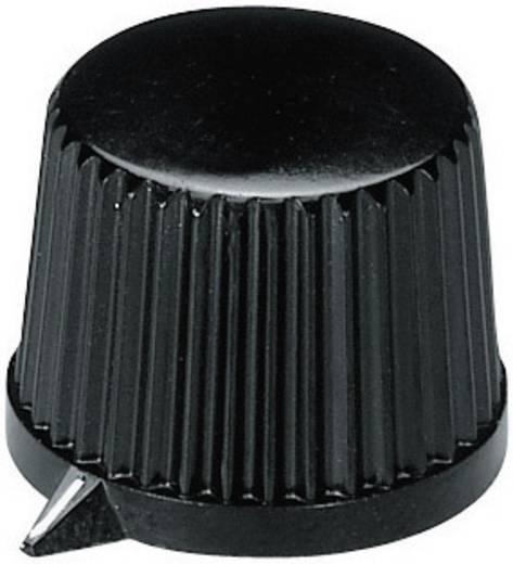 OKW A1313560 Draaiknop Zwart (Ø x h) 20 mm x 15.4 mm 1 stuks