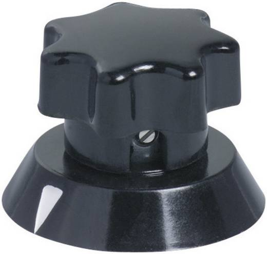 OKW A1331660 Draaiknop Zwart (Ø x h) 31.2 mm x 22 mm 1 stuks