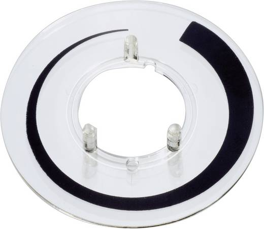 OKW A4416020 Schaalverdeling Stijgingsmarkering Geschikt voor knop Knop 16 mm 1 stuks