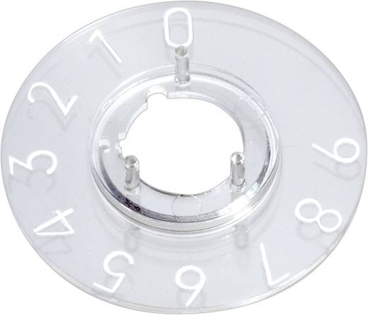 OKW A4410060 Schaalverdeling 1-10 270 ° Geschikt voor knop Knop 10 mm 1 stuks