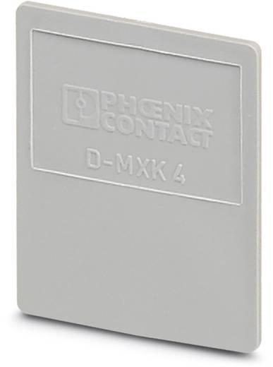 Phoenix Contact D-MXK 4 D-MXK 4 - Afsluitdeksel 50 stuks