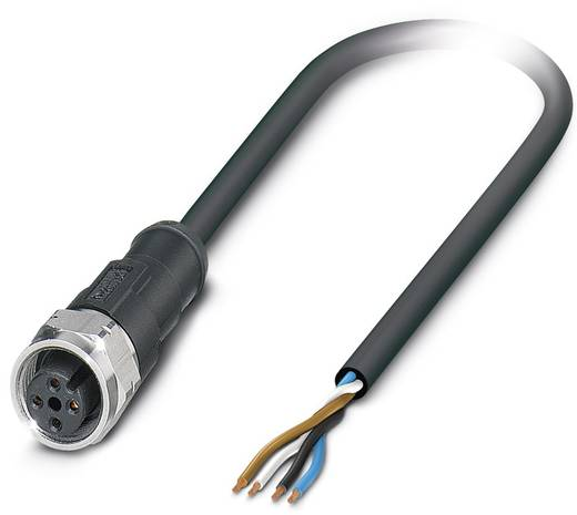 Phoenix Contact SAC-4P-10,0-100/M12FR-3L 1550740 Sensor-/actorkabel Inhoud: 1 stuks