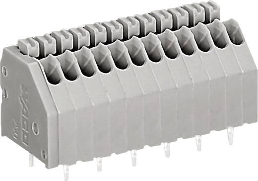 Veerkachtklemblok 0.50 mm² Aantal polen 3 250-1403 WAGO Grijs 1 stuks