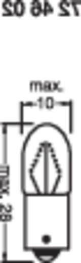 Kleine buislamp BA9s 130 2,6 W Helder Barthelme Inhoud: 1 stuks