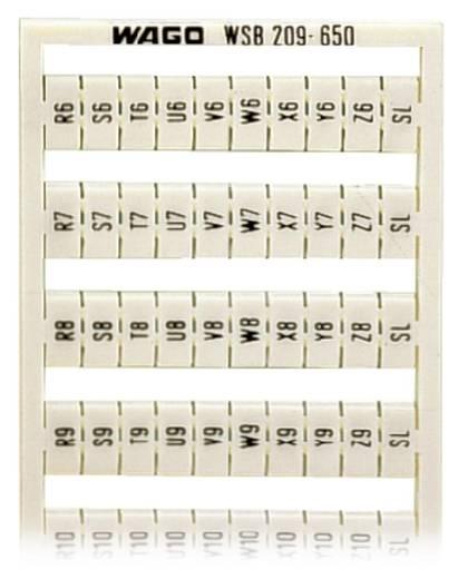 WAGO 209-650 209-650 WSB-snellabelsysteem 5 stuks