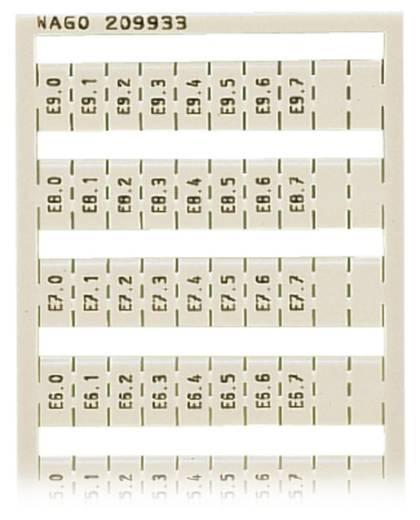 WAGO 209-933 209-933 WSB-snellabelsysteem 5 stuks