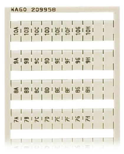 WAGO 209-958 209-958 WSB-snellabelsysteem 5 stuks