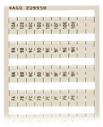 WAGO 209-958 WSB-snellabelsysteem 5 stuks