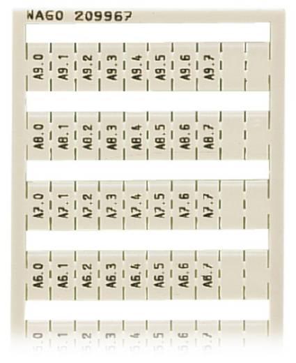 WAGO 209-967 209-967 WSB-snellabelsysteem 5 stuks