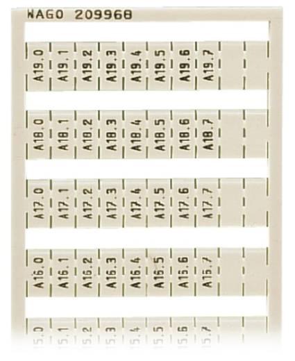 WAGO 209-968 209-968 WSB-snellabelsysteem 5 stuks