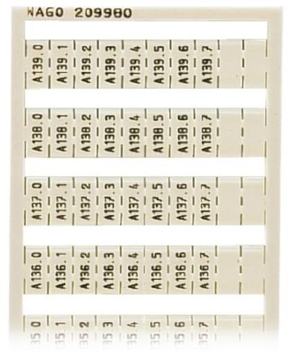 WAGO 209-980 209-980 WSB-snellabelsysteem 5 stuks