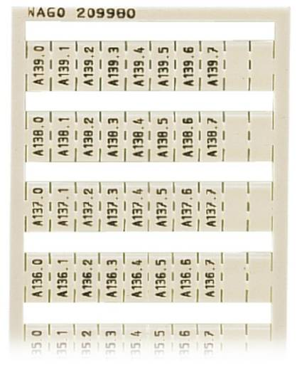 WAGO 209-980 WSB-snellabelsysteem 5 stuks