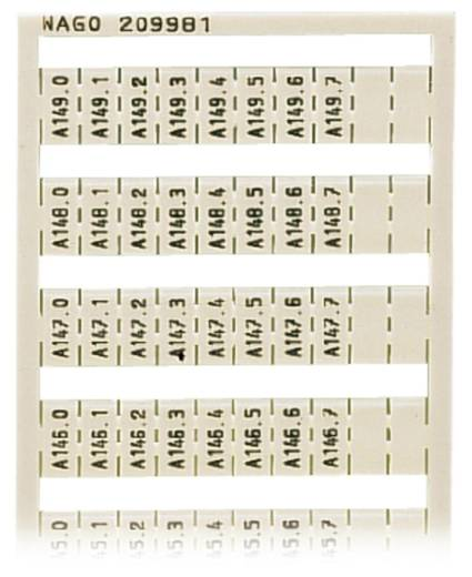 WAGO 209-981 WSB-snellabelsysteem 5 stuks