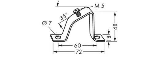 WAGO 210-148 Beugel voor schuine montage 10 stuks