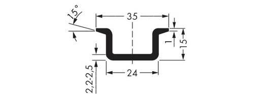 WAGO 210-198 Koperen draagrail 10 stuks
