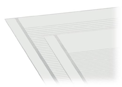 WAGO 210-334/1110-086 Zelfklevende opschriftstroken 1 stuks