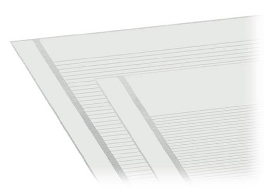 WAGO 210-334/500-203 Zelfklevende opschriftstroken 1 stuks