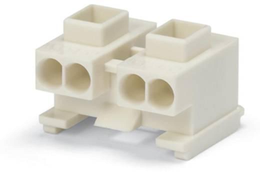 WAGO Apparaataansluitklem Flexibel: - Massief: 0.5-1.5 mm² Aantal polen: 4 10000 stuks Lichtgrijs