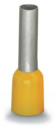 WAGO 216-208 Adereindhulzen 1 x 6 mm² x 14 mm Deels geïsoleerd Geel 100 stuks