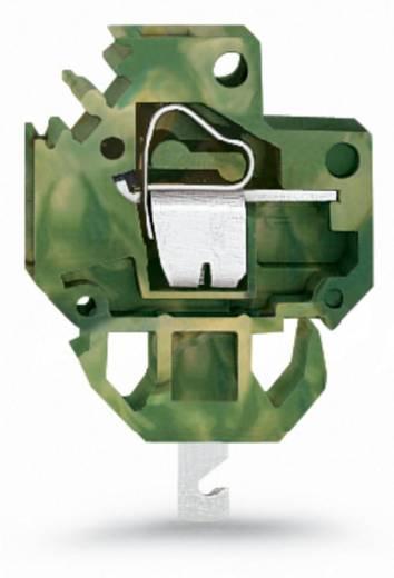 Veerkachtklemblok 4.00 mm² Aantal polen 1 WAGO Groen-geel 200 stuks