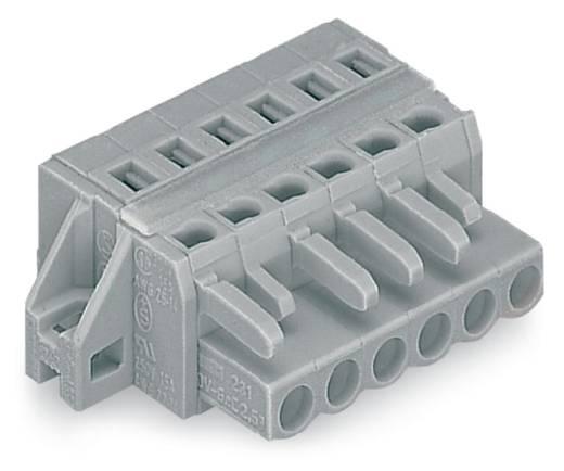 WAGO 231-106/027-000 Busbehuizing-kabel 231 Totaal aantal polen 6 Rastermaat: 5 mm 50 stuks