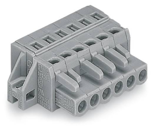Busbehuizing-kabel 231 Totaal aantal polen 6 WAGO 231-106/031-000 Rastermaat: 5 mm 50 stuks